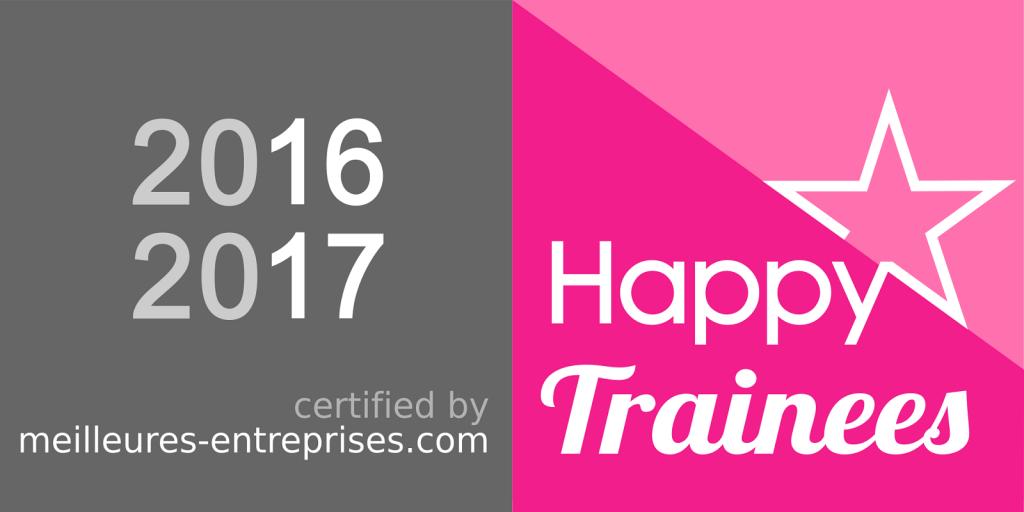label happy trainees-2016-2017